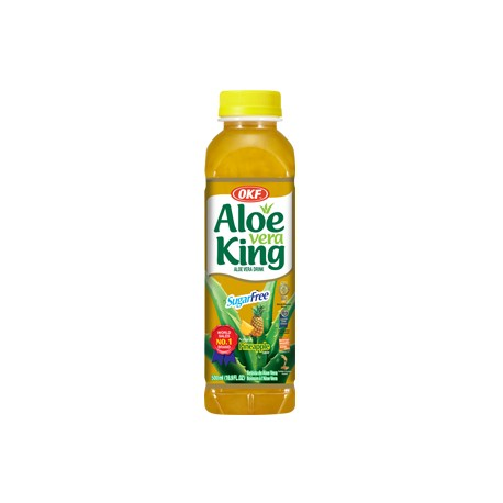 "30% Aloe Vera King  ""Ανανά""   χωρίς ζάχαρη- 500 ml"