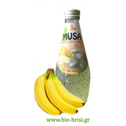 Χυμό με σπόροι βασιλικού - μπανάνα 290 ml
