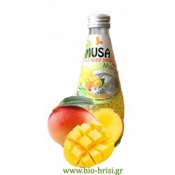 Χυμό με σπόροι βασιλικού - MANGO 290 ml