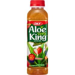 "30% Aloe Vera, King, OKF "" Φράουλα "" - 500 ml"