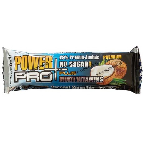 POWER PRO PREMIUM COCONUT SMOOTHIE  SUGAR FREE 80gr