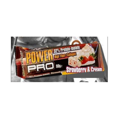 Power Pro - Φράουλα Κρέμα 80γρ