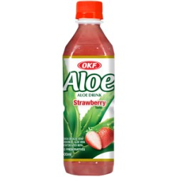 Ποτο με Aloe Vera OKF, Φράουλα - 500 ml