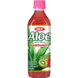 Ποτο με Aloe Vera OKF, Ακτινίδιο + Φράουλα - 500 ml