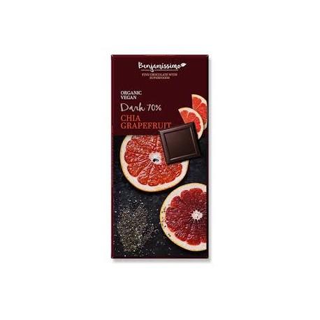 Chia & Grapefruit 70% ΚΑΚΑΟ , BIO