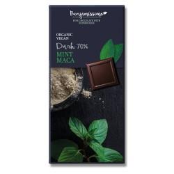BIO Σοκολάτα με Μέντας και Maca