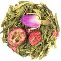 GREEN TEA-CRANBERRY CREAM
